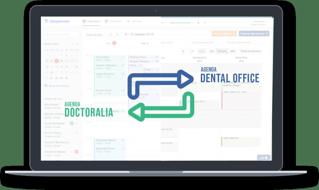 Integração do Doctoralia com Dental Office