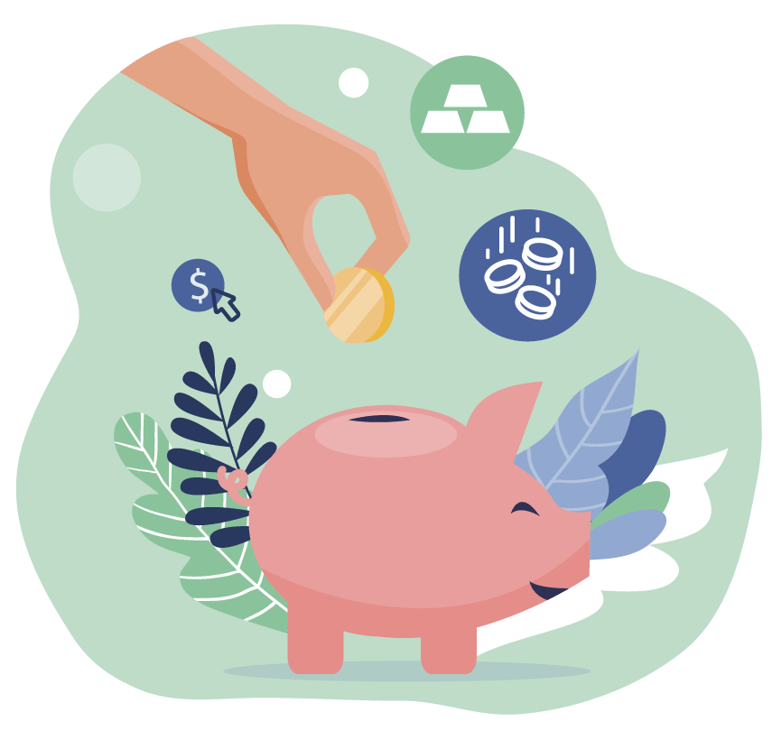 Ilustração Faça um levantamento dos investimentos necessários para o seu negócio
