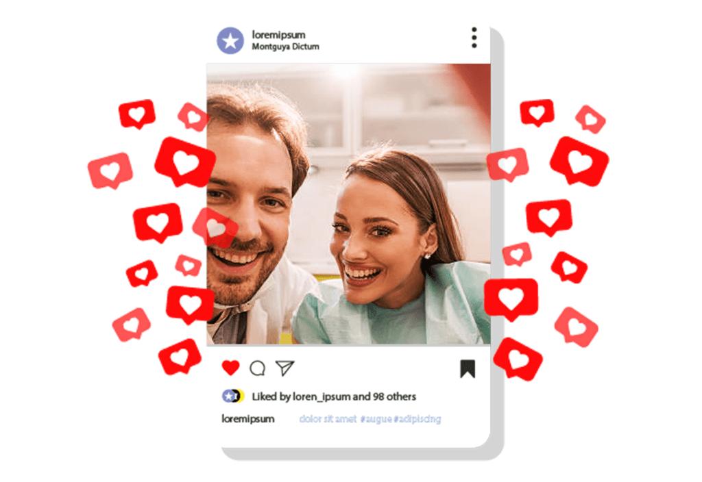 Dentistas nas redes sociais