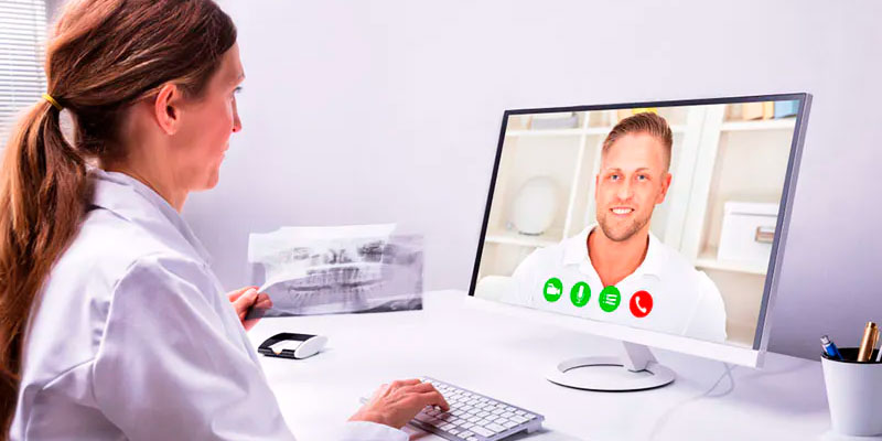 Atendimento online de dentistas